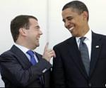 Dmitry and Barack Obama
