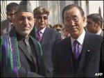 President Karzai & Ban Ki-moon